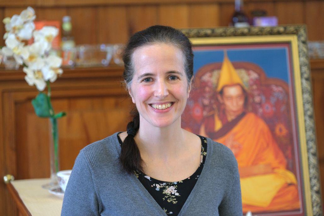 Salome Werth - Zentrumslehrerin am Kadampa Meditationszentrum Dresden