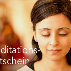 Gutschein für einen Kurs im Kadampa Meditationszentrum Dresden