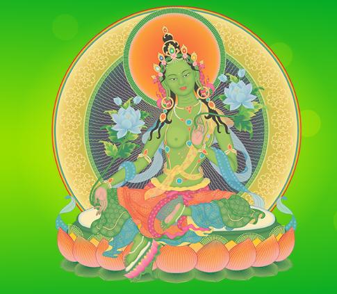 Arya Tara - Befreiung von Leid