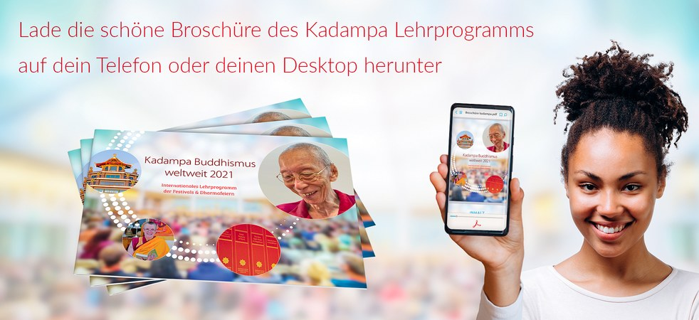 Broschüre Kadampa Buddhismus 2021